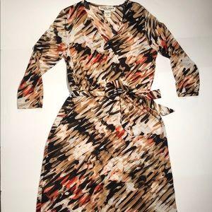 Studio West Apparel Deep V Neck Dress